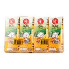 Oishi Green Tea Honey Lemon Pack (4s)
