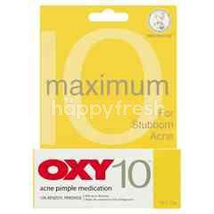 MENTHOLATUM OXY 10 Maximum Acne Pimple Medication