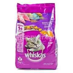 Whiskas Makanan Kucing Rasa Ikan Kembung dengan Salmon Pocket