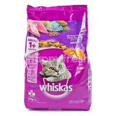 Whiskas Mackerel Flavored Cat Food with Salmon Pockets