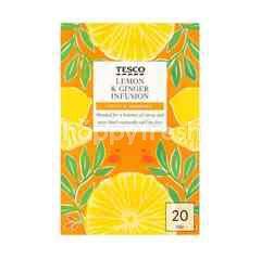 Tesco Lemon & Ginger Infusion Tea (20 Teabags)