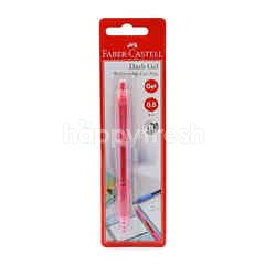 FABER CASTELL 0.5mm Red Retractable Gel Pen