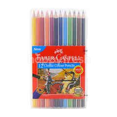 FABER CASTELL Classic Colour Pencil (12 Pieces)