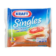 Kraft BBQ Chicken Flavored Sliced Cheddar Cheese Singles