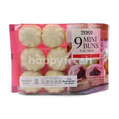 Tesco Mini Buns Coconut (9 Pieces)