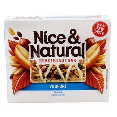 Nice & Natural Roasted Nut Bar Yoghurt