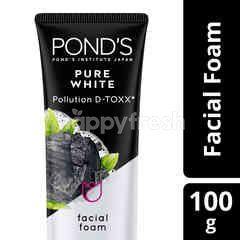 Pond's Pure White Facial Foam Pollution Out+Purity