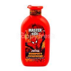 Master Kids Sampo dan Kondisioner Anak Spiderman
