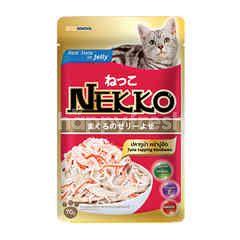 Nekko Tuna Topping Kanikama In Jelly Cat Food Pack