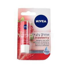 Nivea Fruty Shine Strawberry Lip Cream