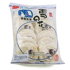 Bin Bin Rice Crackers Snow Flavor