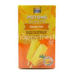 Kings Potong Signature Thai Mango Ice Cream Bar (6 Pieces)