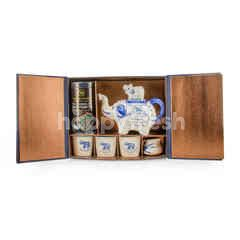 Blue Elephant Jasmine Green Tea Set