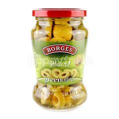 Borges Sliced Green Olives
