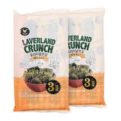 Manjun Foods Laverland Crunch Sea Salt Twinpack