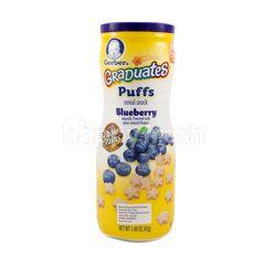 Gerber Graduates Puffs Makanan Selingan Sereal Rasa Blueberry