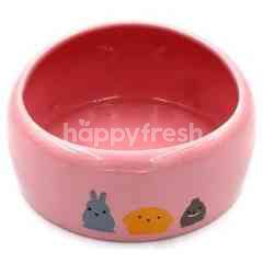 Trustie Small Animal Bowl (Pink) (Medium)