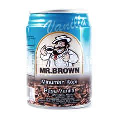 Mr. Brown Iced Coffee Drinks Vanilla Flavor