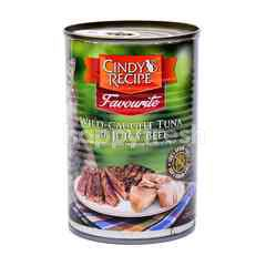 CINDY RECIPE Wild-Caught Tuna With Juicy Beef Cat Food