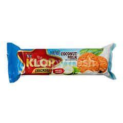 OT Klop Crackers Coconut Milk Original Flavor
