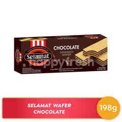 Selamat Sandwich Wafer Chocolate