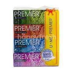 Premier U Me 4-Pack Facial Tissue