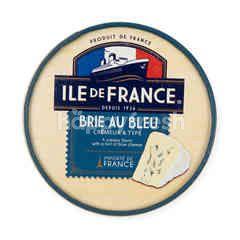 Ile de France Brie Au Bleu Cheese