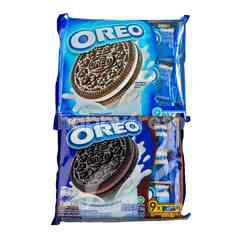 Oreo Vanilla Chocolate Sandwich Cookies 29.4g & Oreo Chocolate Cream Flavor 30g