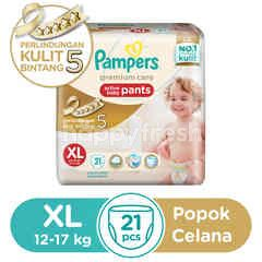 Pampers Premium Care Active Baby Pants Size XL (21 pieces)