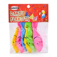 Sundino Party Set Smiley Balloons (6 Pieces)