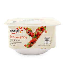 Yoplait Strawberry Yogurt