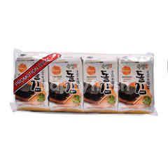 Premium Korean Manjeon Seaweed (4 Packs)
