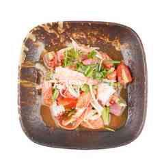 Nippon Kai Spicy Mixed Sashimi Salad