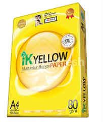 Ik Yellow A4 Multifunction Buisness Papper