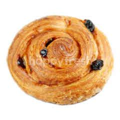Custard Raisin Roll