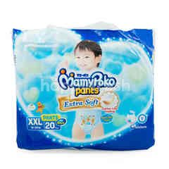MamyPoko Extra Soft Baby Boy Pants Diaper XXL (20 pieces)