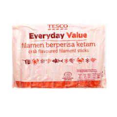 Tesco Everyday Value Crab Flavoured Filament Sticks