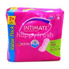 Intimate Value Pack Slim Normal Flow Pads (2 x 20 Pieces)