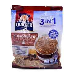 Quaker 3 In 1 Oat Cereal Drink (15 Sachets)