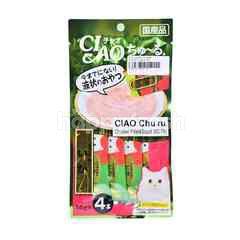 Ciao Chu Ru Chicken Fillet & Squid Cat Treat