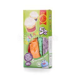 DOLAR SWEETS Dollar 5's Fun Sprinkle Packs