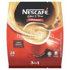 Nescafé 3 In 1 Original Premix Coffee (28 Sticks)