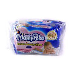 MamyPoko Twin Pack Gentle Cleansing Wipes With Fragrance