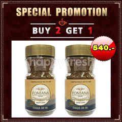 Fontana Coffee (Buy 2 Get 1 Free) Prince Gold Freeze DriedCoffee 200 g