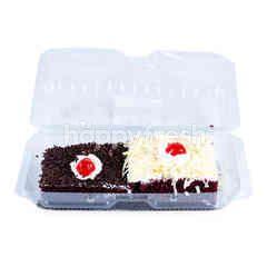 Giant Sliced Red Velvet Cake