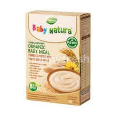 Baby Natura Organic Brown Rice Porridge - Banana, Quinoa And Oat (5X16g)