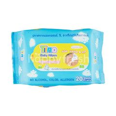 Tino Baby Wipes 20 Sheets