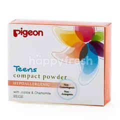 Pigeon Teens Compact Powder Hypoallergenic Beige