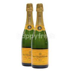 Veuve Clicquot Ponsardin Yellow Label 2 Bottles