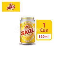 Skol Lager Beer Can (320ml)